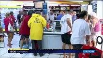 Ouragan Maria : les Guadeloupéens prennent des précautions