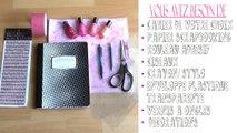 DIY ♡ personnalisez vos cahiers ♡ Cahier déchantillons de vernis à ongles