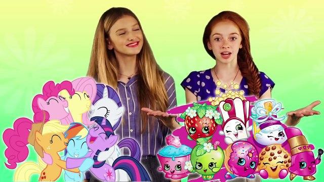 MASHUP + SURPRISE UNBOXING: My Little Pony + Shopkins - Part 2! | Charer Mashup