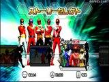 Super Sentai Battle Ranger Cross Wii (Go-Onger Engine Gattai Engine-O) Part 22 HD