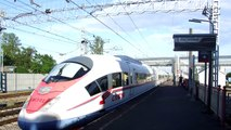 High speed trainsurfing 250 km/h / Зацепинг на сапсане МСК БЛГ Чудово СПБ. 250 кмч (2way)