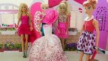 Queen Elsa Anna Barbie dolls Dress Up & Clothes Barbie Abend kleid تلبيس باربى فساتين سهره