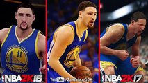 NBA 2K17 vs NBA 2K16 vs Real Life Comparison Ft. Stephen Curry, LeBron James, Kevin Durant.etc