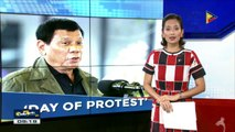 Pangulong Duterte, idineklarang national day of protest ang September 21