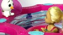 Épisode gelé domestiques ouvrir parodie piscine nager jouet 3 orbeez disney olaf shopkins barbie glam