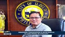 Ombudsman, pinakakasuhan si Mayor Mabilog at ilang opisyal ng Iloilo City