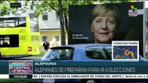 Merkel ganaría elecciones federales de Alemania según sondeos