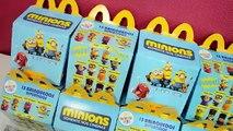 Minions em Português - Minions do Mc Donalds Mc Lanche Feliz - Turma kids