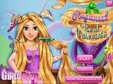 Công chúa Anna và Công chúa tóc mây Rapun zel làm đẹp bằng kiểu tóc ấn tượng (Real Haircut