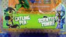Plants vs. Zombies: Garden Warfare Peashooter vs Scientist & Foot Soldier vs Camo Cus 2-Pack