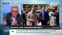 Brunet & Neumann : Florian Philipot/Marine Le Pen : un divorce inévitable ? - 19/09