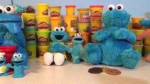 Biscuit biscuits comte croquer en train de manger lui monstre sésame rue jouet déballage N 3