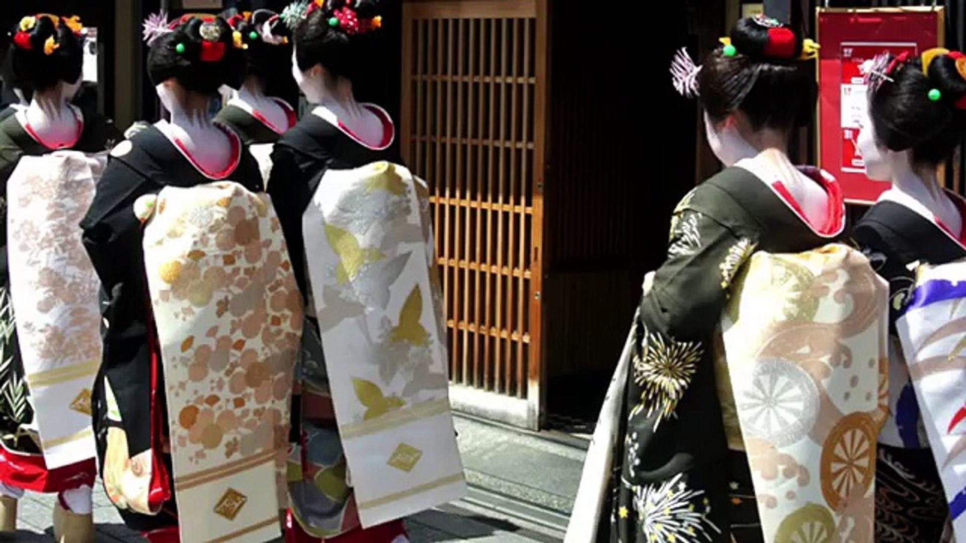 Guider Japon connu plupart un voyager bien District de geisha de gion kyoto japan  