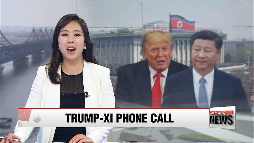 Trump and Xi agree to ramp up pressure on North Korea through UN sanctions