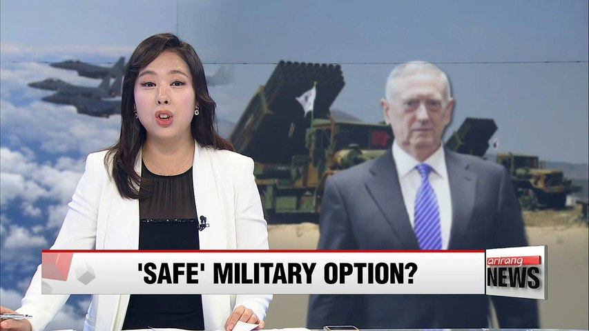 U.S. defense chief hints at military option on North Korea which could spare Seoul from 'grave risk'