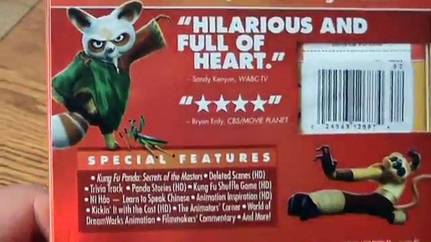Kung Fu Panda 2 Blu-Ray Unboxing