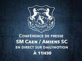 Conférence de presse d'avant match SM Caen / Amiens SC