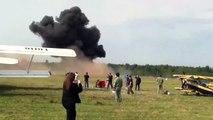 Un avion s'écrase pendant un meeting aérien en Russie