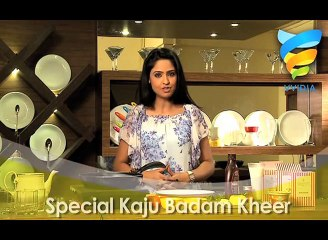 Special Kaju Badam Kheer Recipe How to make kaju badam kheer- Kids Recipes  Desserts