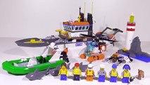 Lego City 60014 Coast Guard Patrol / Einsatz für die Küstenwache - Lego Speed Build Review