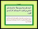 Surah Mulk with Urdu (Hindi) Translation (Tarjumah)PYAREY BAYAN