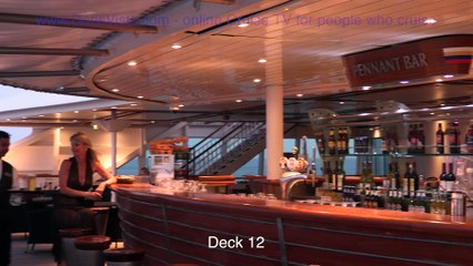 Cruise Ship Aurora full tour of passenger areas