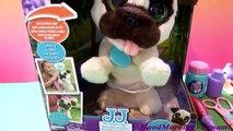 FurReal Friends JJ Dog - Jumping and Barking Pupy Toys/Chị Bí Đỏ Khám Bệnh Cho Chú Chó Con J.J