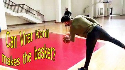Do you think Virat Kohli makes the basket ?