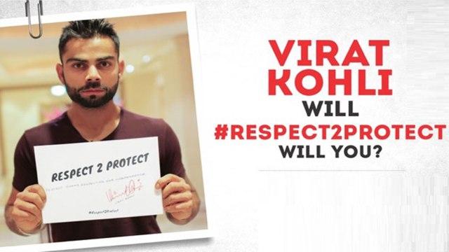 Virat Kohli, Suresh Raina, Rayudu stand up for women's rights, Respect and Protect Women !