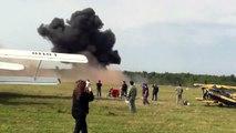 Un avion se crashe en plein meeting aérien en Russie