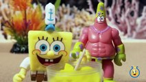 Mr. Krabs gets a Surprise Birthday Party at the Krusty Krab Playset SpongeBob Toys