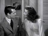 Escena de Historias de Filadelfia con Cary Grant y Katharine Hepburn