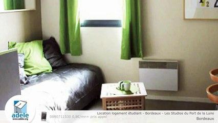 Location logement étudiant - Bordeaux - Les Studios du Port de la Lune
