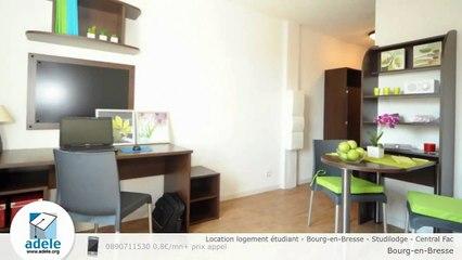 Location logement étudiant - Bourg-en-Bresse - Studilodge - Central Fac