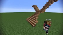 Minecraft Build School: Staircases!