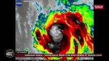 Ouragan Maria: dégâts en Martinique et en Guadeloupe