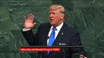 """Assemblée générale de l'ONU: Trump menace de """"détruire totalement"""" la Corée du Nord"""