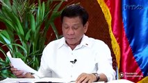 Pres. Duterte says he made up wrong account number to fool Trillanes