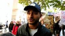 Savoie - Chambéry : manifestation des étudiants en Staps