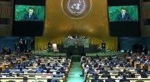 Discours d'Emmanuel Macron à la 72e Assemblée générale des Nations Unies à New York