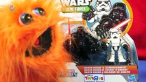 Darth Vader & StormTrooper Star Wars Jedi Force Playskool Heroes Toy Review