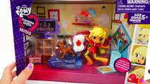 MLP Equestria Girls Minis Unboxing - Pinkie Pies Slumber Party Applejack   Evies Toy House