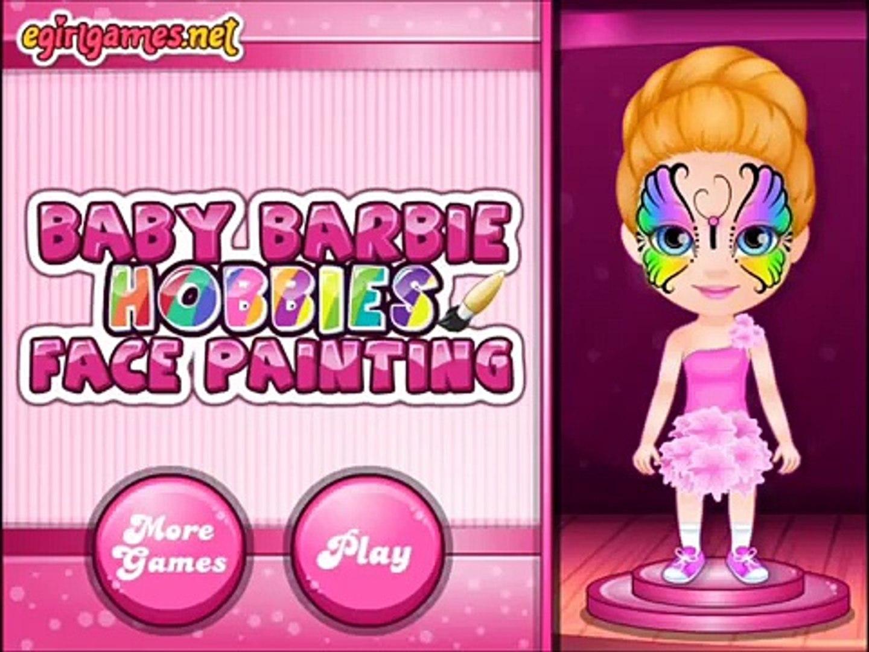 Incroyable Bebe Visage Des Jeux Loisirs Nouveau Peinture Barbie Walkthrough Meilleurs Jeux Enfants Video Dailymotion