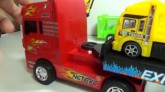 trucks climb mother truck | trucks toy | car toy