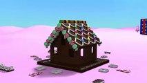 Les dessins animés enfants Noël pour Jeu pain dépice maison enfants les tout-petits construction