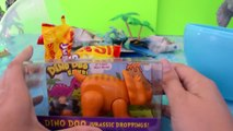 Play doh dinosaurs eggs Jurassic World toys GIANT surprise playdough egg dino blind bags