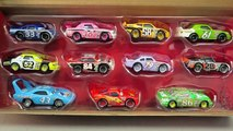 Disney Cars Complete Piston Cup Racers Set Diecast Unboxing Lightning Mcqueen The King Chick Hicks