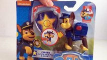 Paw Patrol Chase Action Pack Pup and Badge Nickelodeon - Unboxing Demo Review