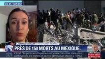 """Séisme au Mexique: """"Je voyais les voitures se secouer, les lampadaires qui menaçaient de s'effondrer"""""""