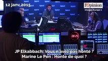 Marine Le Pen vs Jean-Pierre Elkabbach: un match souvent explosif
